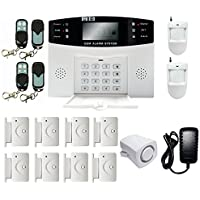 iMeshbean Wireless & Wired GSM Home Security Alarm Burglar System 108 Zones Auto Dialing USA