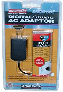 Digipower AC Adapter for 3 Volt Fuji FinePix Digital Cameras (4700, 40i, 2600, A101, A202)