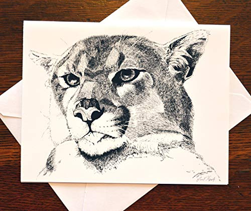 Cougar Note Card ()