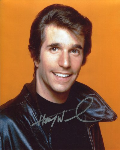Henry Winkler Signed / Autographed Happy Days Photo as Fonzie. Includes Fanexpo Fanexpo Certificate of Authenticity and Proof. Entertainment Autograph Original. ()