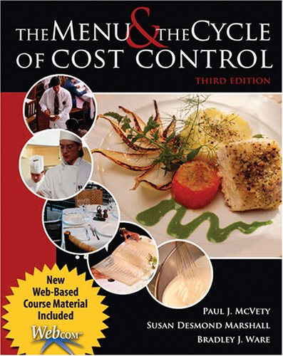 THE MENU AND THE CYCLE OF COST CONTROL WITH WEBCOM