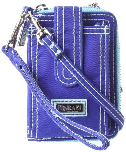 Hadaki Essentials HDK848 Wristlet,Cobalt/Aqua,One (Hadaki Key Purse)