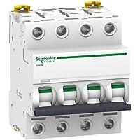Schneider Electric A9F79440 Interruptor Automático Magnetotérmico Ic60N, 4P