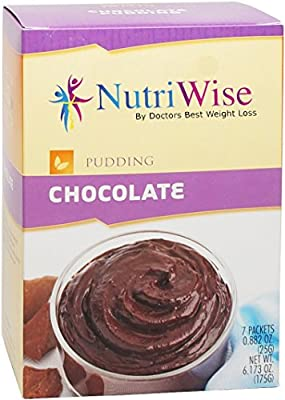 NutriWise - Chocolate Protein Diet Pudding (7/Box)