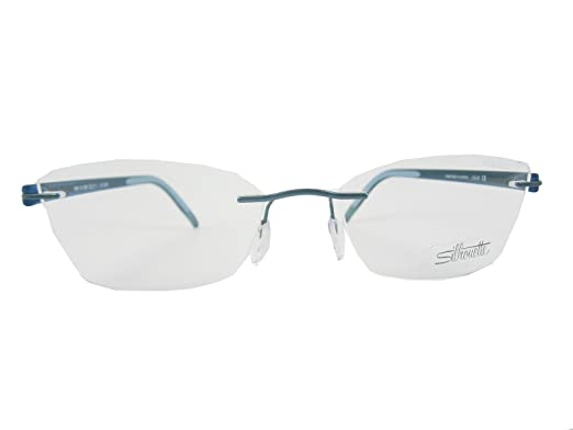 989aab01624 Amazon.com  Silhouette Eyeglasses 4406 6056 Chassis 5379 SPX Signia Teal  Shimmer 4406-6056  Clothing