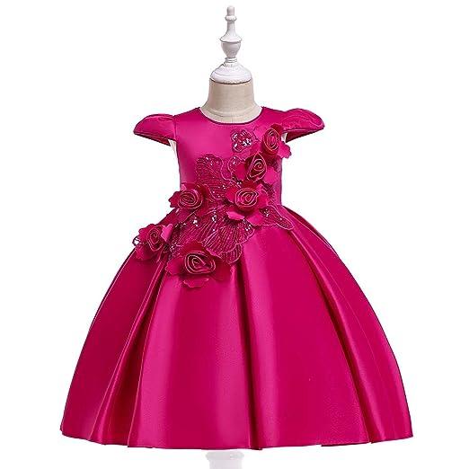 Vestido de niña Ropa de niños Fiesta de bodas Vestidos de ...