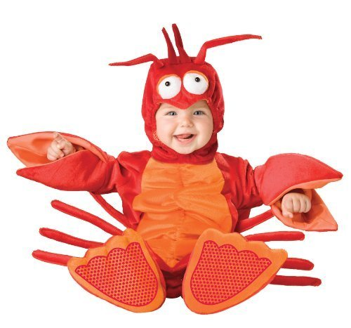 Lil Lobster Costume - Infant Large