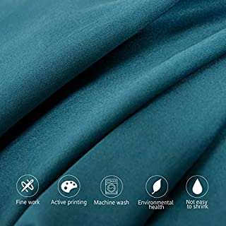 NTBAY 500 Thread Count Cotton Body Pillowcase, Super Soft and Breathable for Adults Pregnant Envelope Closure Body Pillow Cover, 20 x 54 Inches, Slate Blue