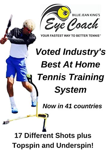 Billie Jean King's Eye Coach Pro Model-Your Fastest Way to Better ()