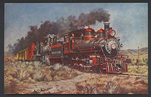 Virginia Truckee Trains RENO NEVADA Railway Steam Engine Railroad ()