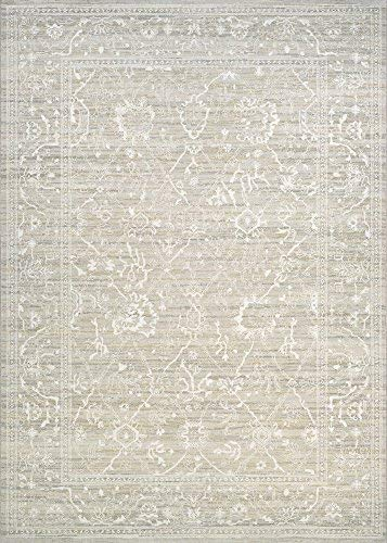 Couristan Everest Persian Arabesque Bone Runner Rug, 2'7