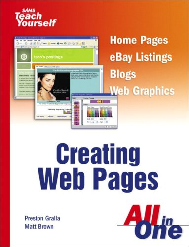 Sams Teach Yourself Creating Web Pages All in One pdf epub