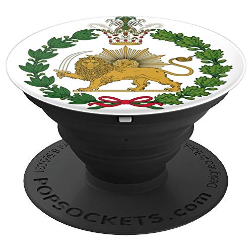 Shir o Khorshid Persian Lion and Sun Emblem Iran - PopSockets Grip and Stand for Phones and Tablets