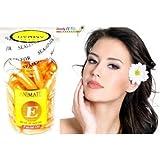 Animate Aloe Vera and Vitamin E Facial Oil for Acne Marks Soft Gel -60 Capsules