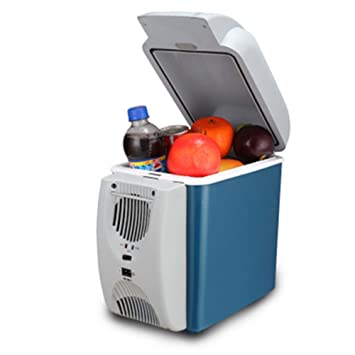 KAKA(TM) 7.5L Portable Electric 12 Volt Small Mini Fridge Car Refrigerator  Cooler
