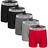 Colourful Boxer Briefs Men's Underwear Men Pack Of 5 Open Fly Mens Underwear