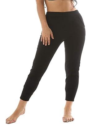 TINGSU Leggings de Adelgazamiento Pantalones de Yoga Sudor ...