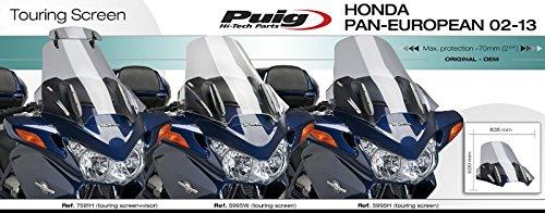 Touring screen Puig Honda Pan European ST 1300/02-16/rauchgrau