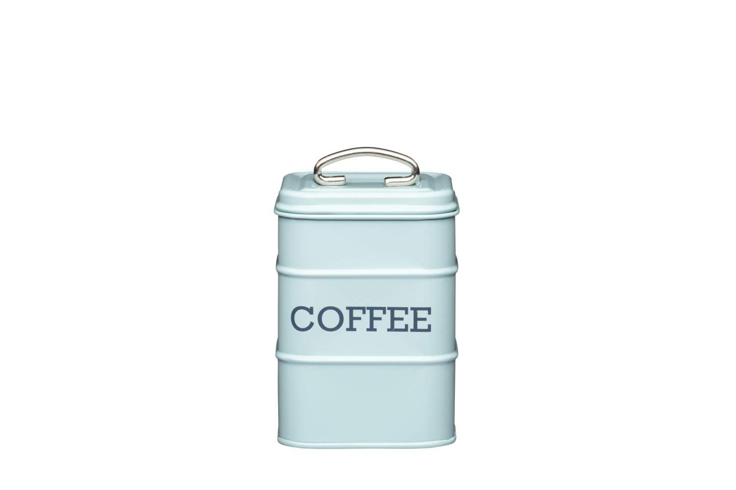 Tee Zucker Living Nostalgia blau KitchenCraft CREAFLOR HOME 3er Set Vorratsdosen Kaffee