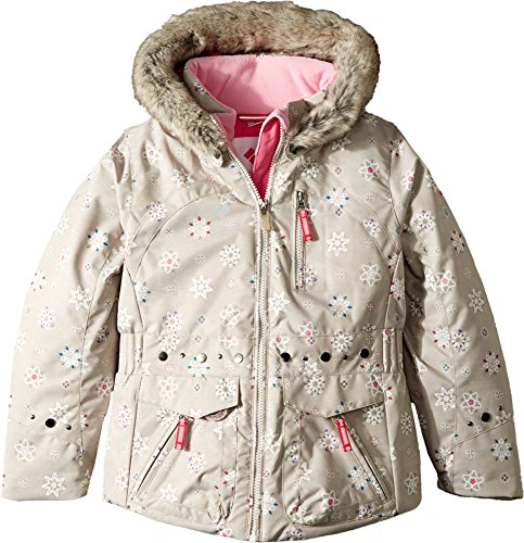Obermeyer Kids Baby Girl's Taiya Jacket (Toddler/Little Kids/Big Kids) Frost Crystals 6 by Obermeyer Kids