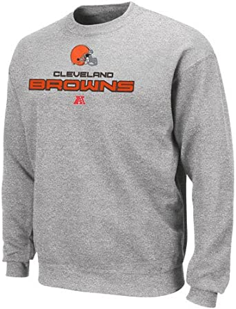 cleveland browns crewneck sweatshirt