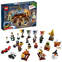 Celebrate Christmas in the Wizarding World with the magical LEGO Harry Potter 75964 Advent Calendar. Behind each of the 24 doors is a different LEGO Harry Potter toy or figure. As the big day gets closer, kids can recreate happy Hogwarts holi...