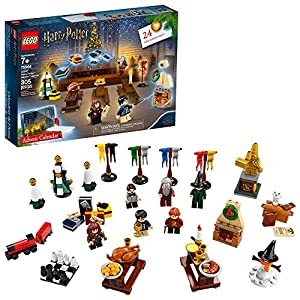 Celebrate Christmas in the Wizarding World with the magical LEGO Harry Potter 75964 Advent Calendar. Behind each of the 24 doors is a different LEGO Harry Potter toy or figure. As the big day gets closer, kids can recreate happy Hogwarts holiday scen...