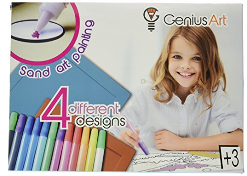 Genius Art Sand Art Painting - Arts and Crafts Kit for Kids