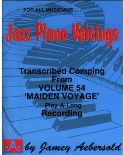 Read Online Transcribed Jazz Piano Accompaniment - From Volume 54 ''Maiden Voyage'' Play-A-Long (Jazz Piano Voicings) pdf epub