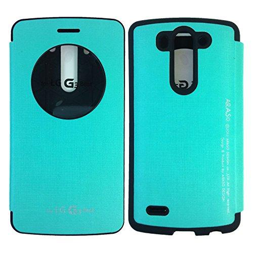 watch 0c0ed 6b8b0 LG G3 Vigor Case,[Mint] [Quick Circle View] Bumper Case PU Leather ...