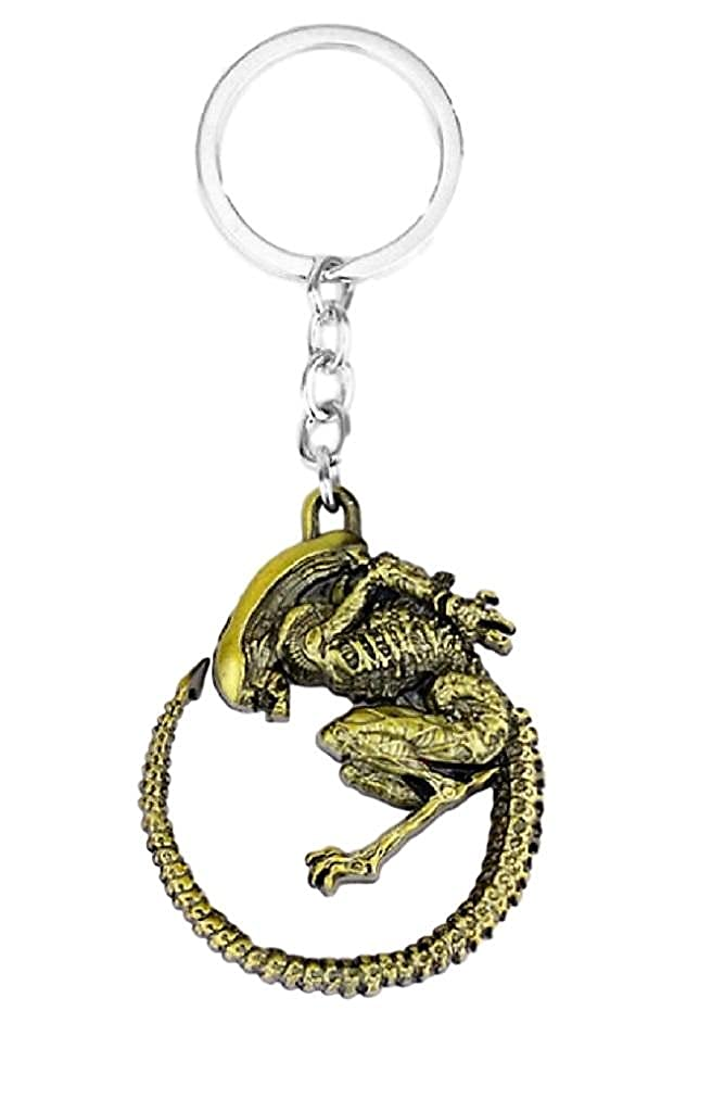 Amazon.com: Alien vs Predator Xenomorph Alien llavero de ...