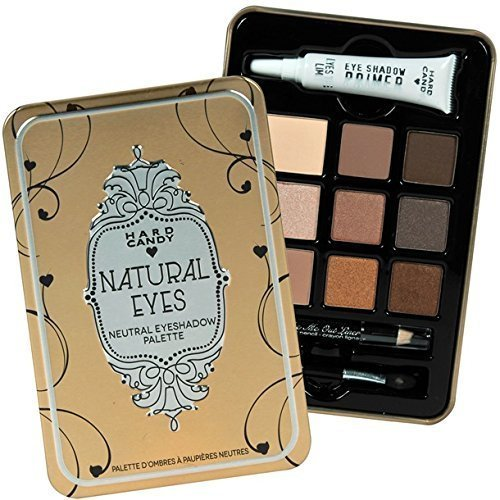 Hard Candy Look Pro Tin Natural Eyes Neutral Eyeshadow Palette