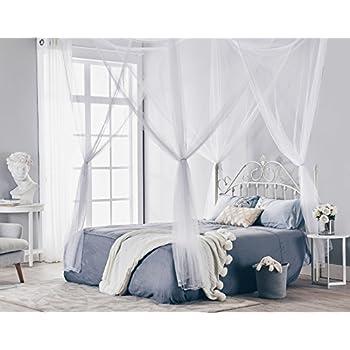 truedays four corner post bed princess canopy mosquito net size