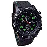SMTSMT Quartz Watch Men Military Watches Sport Wrist watch-Green