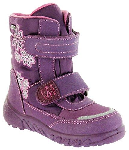 Richter Kinder Winter Boots Stiefel Lila Warmfutter Sympatex Mädchen 5133-831-3801 Berry WMS Husky Violett