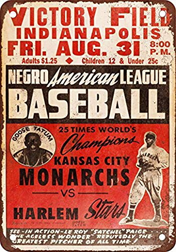 Sylty 1947 Leagues KC Monarchs vs. Harlem Vintage Retro ...