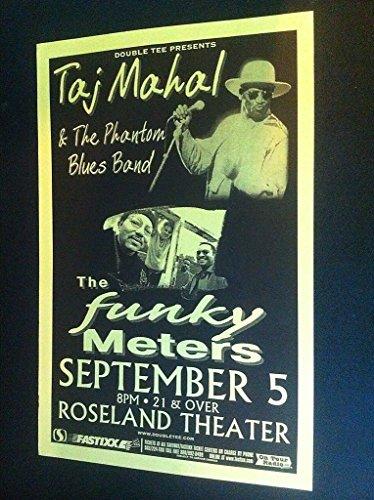 (Taj Mahal Funky Meters Rare Original Portland Concert Tour Gig)