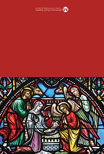 Stained Glass Nativity Christmas Cards (Pack of 12): Message inside. Gift boxed with 12 cards and matching ()
