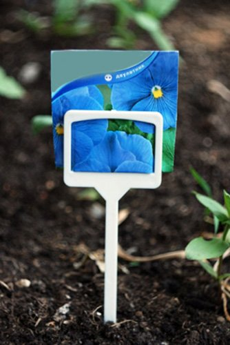 large Garden Stake Tags/Plastic Plant T-type/Plant tags 10Pcs by komplekt-plastic