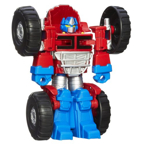 Playskool Heroes Transformers Rescue Bots Optimus Prime Figure]()