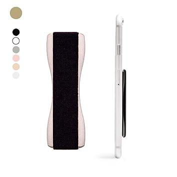 Happy Strappy Original Fingerhalterung Handy (Gold). Der Handy Halter Griff für den Finger und Smartphones: iPhone, Samsung,