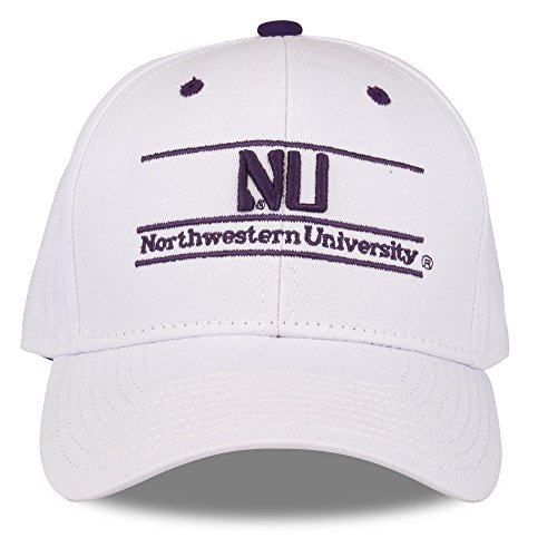 (NCAA Northeastern Illinois Golden Eagles Unisex NCAA The Game bar Design Hat, White, Adjustable)