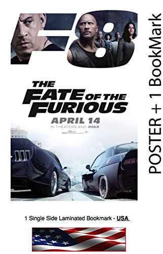 Fate of the Furious  Movie Poster   Dwayne Johnson, Vin Dies