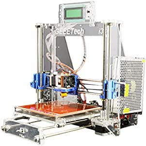 Impresora 3D transparente de aluminio de Ridgeyard. Kit completo ...