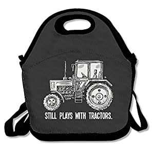 Tractor 100% Polyester Fiber Personalized Girl Kids Travel Bag