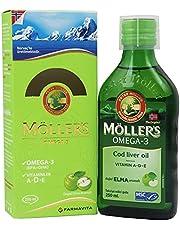 Möller's Omega Şurup Doğal Elma Aromalı 250 ml