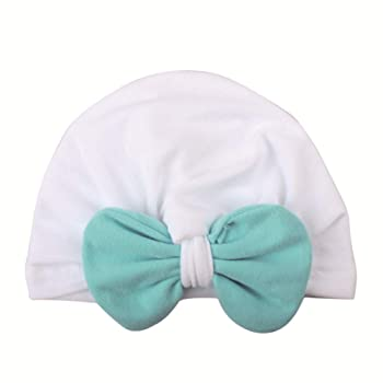 Winter Hat, Adorable Baby Knot Headbands Newborn Elastic Sretch Head Wrap Baby Hat Beanie Headwear Cap