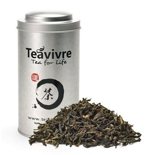 Teavivre Organic Lapsang Souchong Smoky Black Tea Loose Leaf Chinese Tea – 3.5oz/100g Tin