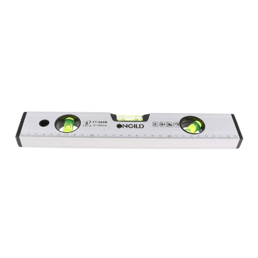 30cm Sharplace Niveau Desprit Magn/étique De R/ègle Dalliage Daluminium