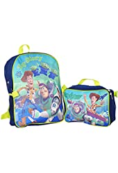 """Toy Story """"Space Mission"""" Backpack with Lunchbox - navy/light green, one size"""